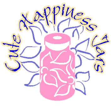 Cute Happiness Jars